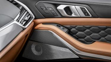 BMW X5 Competition - door detail