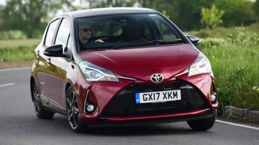 Used Toyota Yaris - front cornering