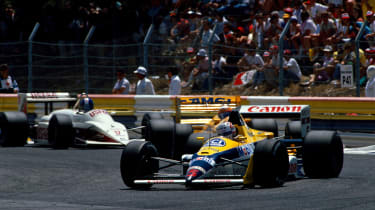 Nigel Mansell Williams F1 1988