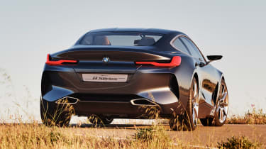 BMW Concept 8 Series - full rear static