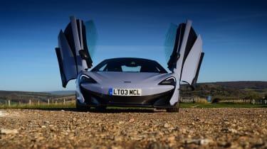 McLaren 600LT - full front