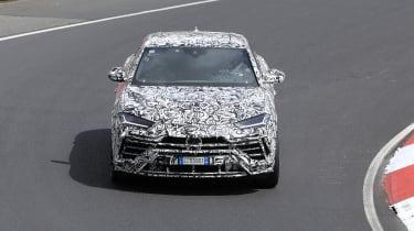 Lamborghini Urus spy