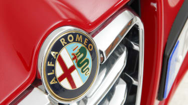 Used Alfa Romeo Giulietta - Alfa badge