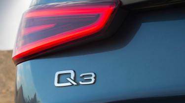 Used Audi Q3 - Q3 badge