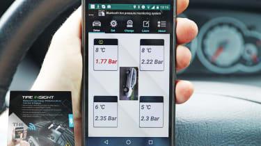 Tireinsight Smartphone TPMS Kit
