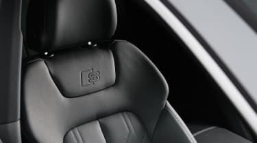 Audi A7 Sportback - front seat