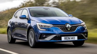 Renault Megane facelift - front