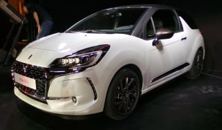 DS 3 hatchback 2016 - front quarter reveal