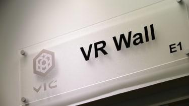 Jaguar Land Rover visit - VR Wall