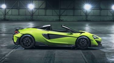 McLaren 600LT Spider - side