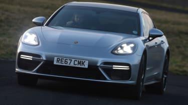 Porsche Panamera Sport Turismo front lights