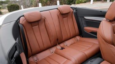 Audi A5 Cabriolet - rear seats