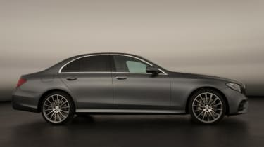 New Mercedes E-Class 2016 studio side