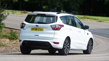 Ford Kuga - rear cornering