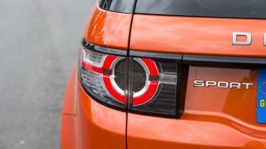 Land Rover Discovery Sport long-term - rear light detail