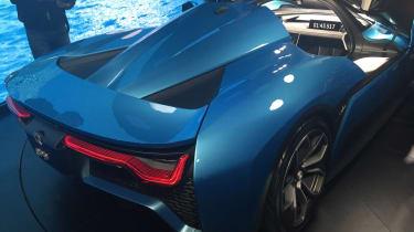 NextEV NIO EP9 electric hypercar - rear launch