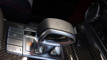 Mercedes G63 AMG 6x6 gear lever