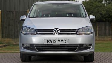 Used Volkswagen Sharan - full front