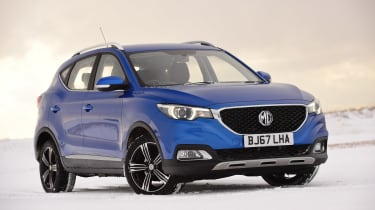 MG ZS - front static