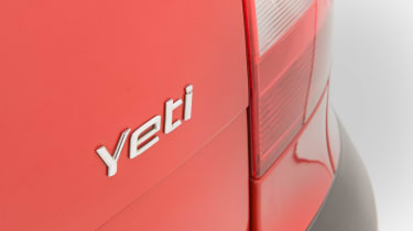Used Skoda Yeti - Yeti badge