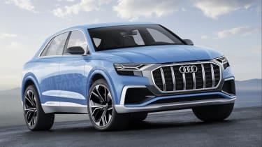 Audi Q8 ride review - render