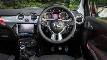 Vauxhall Adam S Rocks 2016 - interior