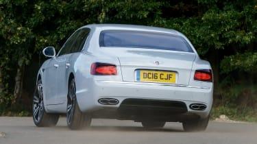 Bentley Flying Spur V8 S - rear cornering