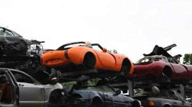 Orange TVR crash