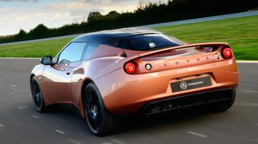 Lotus Evora 414E rear action