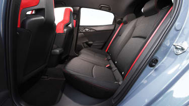 Honda Civic Type R - rear seats