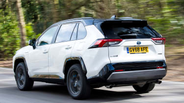 Toyota RAV4 - rear tracking