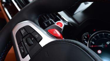 BMW M5 - steering wheel detail