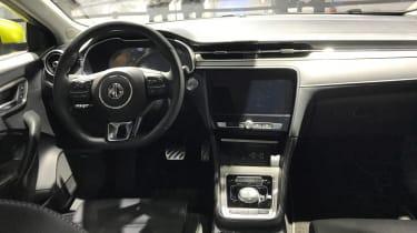 MG 6 motor show interior
