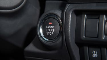 Subaru XV - start/stop button