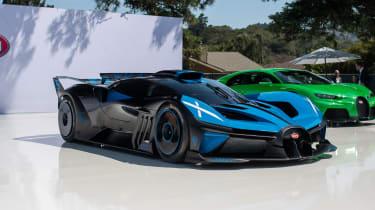 Pebble Beach Bugatti Bolide - front