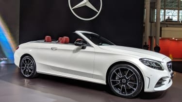 Mercedes C-Class Cabriolet - New York front