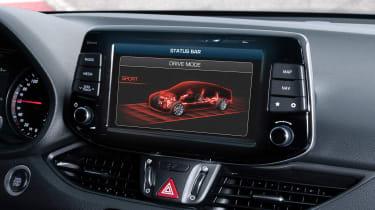 Hyundai i30 N Fastback - sport mode