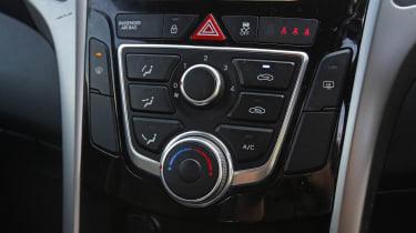 Used Hyundai i30 - interior detail