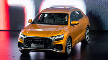 New Audi Q8 reveal - front/side