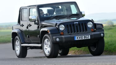 The Wrangler will feature permanent four-wheel drive and a low-range box to gain grip on all surfaces.