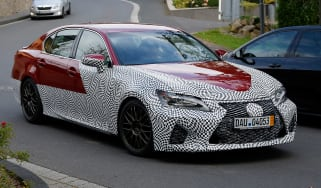 Lexus GS F spy shots
