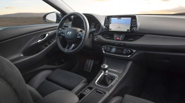 Hyundai i30 N Line front seats