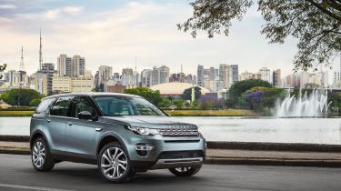 Land Rover Discovery Sport in Brazil