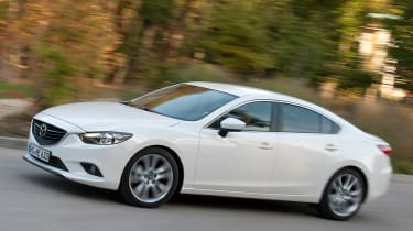 Mazda 6 2.2D front action