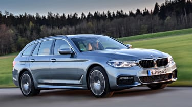 BMW 530d Touring - front