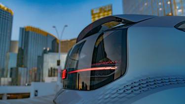 Audi AI:ME concept - rear light