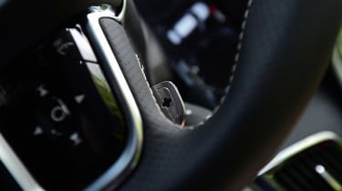 Volvo XC90 long-term test - steering wheel