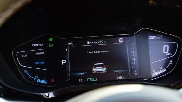 New Kia Niro Hybrid - dials