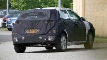 Hyundai Kona EV rear quarter