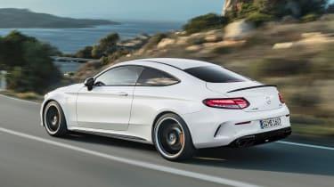 Mercedes-AMG C 63 S - rear